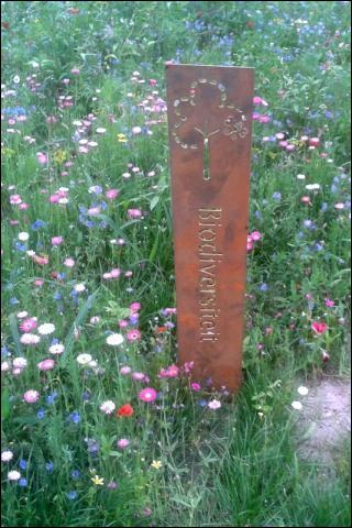 Gemeente park bord